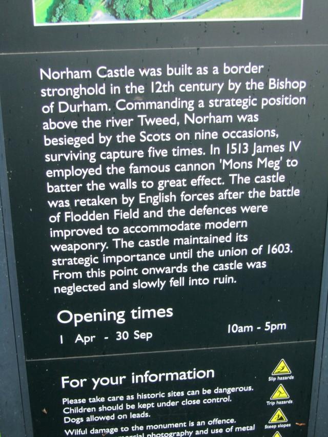 Norham's story
