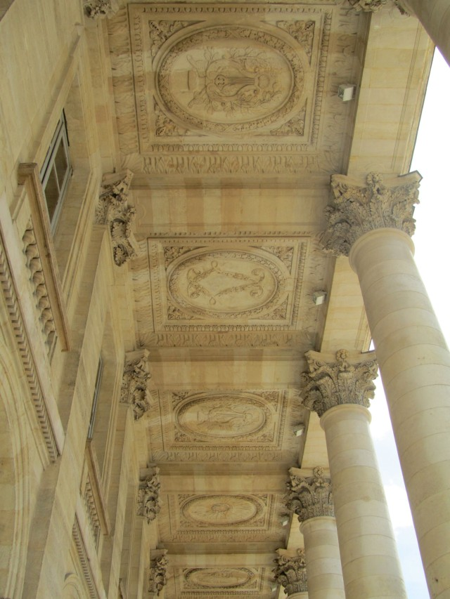 Columns and roundels